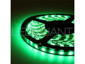SMD 5050 60LED/M Waterproof Led Flexible Strip, Green 16.4FT/5M