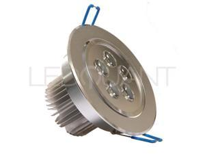 Dimmable 5W CREE Recessed LED Lighting Fixture, Recessed Downlight, Warm White