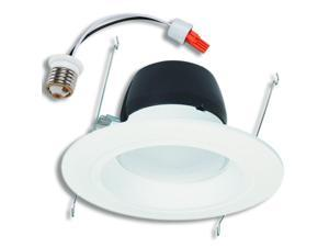 "Halo RL560WH6830 LED Downlight Kit, 5"" & 6"" LED Retrofit Module w/Trim, Edison Base - White"