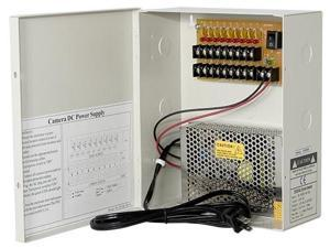 Saber CCTV 9 Channel CCTV Surveillance Camera Power Box 5A 12V DC