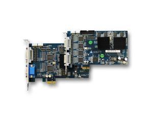 24 Channel PCI-E Saber CCTV Hybrid Enterprise Grade DVR Surveillance Card H.264 D1 Resolution  Video Security