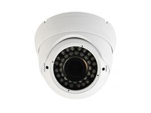 1080P IR HD-TVI White 2.8~12mm DOME SECURITY SURVEILLANCE CAMERA Weatherproof Infrared …