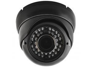 1080P IR HD-TVI Black 2.8~12mm DOME SECURITY SURVEILLANCE CAMERA Weatherproof Infrared