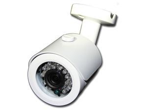HD-TVI 1080P Bullet Security Camera 3.6mm White Color, Surveillance, Weather-Proof, Outdoor, IP66, 1920 x 1080, High Definition, Infrared, IR 65ft