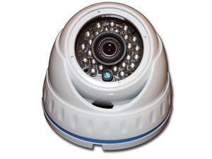 HYBRID 1080P 4 in 1 (HD-TVI, HD-CVI, AHD, 960H) IR WHITE DOME SECURITY SURVEILLANCE CAMERA Weatherproof Infrared