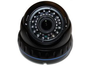 1080P Hybrid 4 in 1 (HD-TVI, HD-CVI, AHD, 960H) IR Black 2.8~12mm DOME SECURITY SURVEILLANCE CAMERA Weatherproof Infrared
