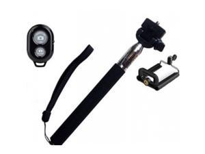 Selfie Extendable Handheld Stick Monopod with Seperate Remote for Smartphone