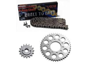 1993-2007 Honda VT600 Shadow VLX 600 Deluxe Nickel O-Ring Chain and Sprocket Kit