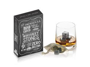 Whiskey Stones from the Original Hand Carved Soapstone