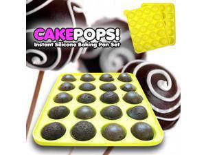 Cake Pops Instant Silicone Baking Pan Set