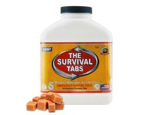 5x Survival Tabs - Emergency Survival Food Supply Tablets (Butterscotch Flavor) [Non-GMO, Gluten-Free, 25 Year Shelf Life]