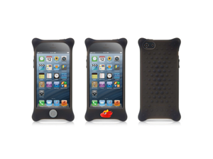 Bone Collection (iPhone5 case) Phone Bubble 5- Safe Protective Silicone Case, with changeable Dragon charm