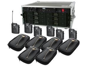 Audio-Technica 3110 Wireless Six Pack System w/HS-09