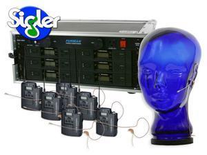 Audio-Technica 3110 Wireless Six Pack System w/HS-06