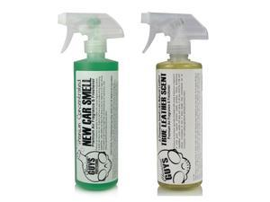Chemical Guys AIR_300 - New Car Scent & Leather Scent Combo Pack (16 oz)