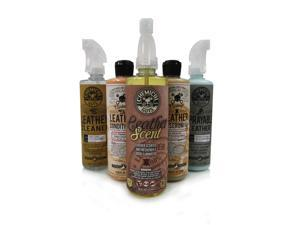 Chemical Guys HOL_113 - Leather Lovers Kit - 5 Products (16 oz)