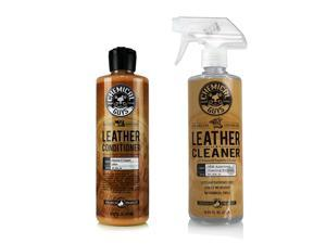 Chemical Guys SPI_109_16 - Leather Cleaner & Conditioner Complete Leather Care Kit, 16 oz (2 Pack)