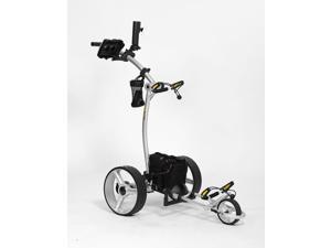 Bat Caddy X4R Electric Golf Bag Cart Caddy w/ Lithium Battery & Remote