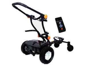 CaddyTrek CT2000-BA BLACK Remote Controlled Golf Bag Cart Caddy