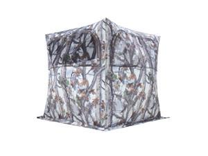 Barronett Blinds Grounder 250 2.5 Person Hunting Blind w/ Bloodtrail Snow Camo