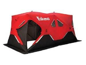 Eskimo Fatfish FF9416i Insulated 7-9 Person Portable Pop Up Ice Fishing Shelter
