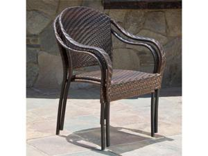 Christopher Knight Home Sunset Fully-Assembled Outdoor PE Wicker Chairs (Set of 2))
