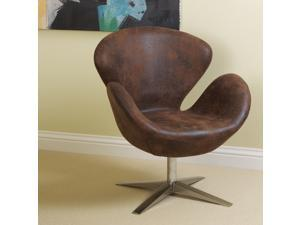 Christopher Knight Home 211696 Modern Petal Chair -  Brown