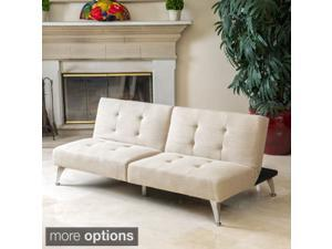 Christopher Knight Home Alston Click-Clack Oversized Convertible Sofa Couch (2 piece set)