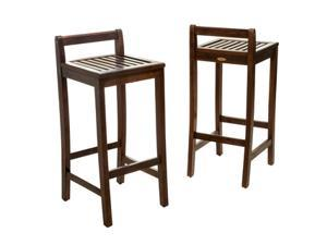 Christopher Knight Home Riviera Wood Barstool (set of 2)