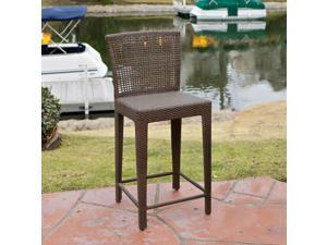 Christopher Knight Home Pacific PE Wicker Barstool