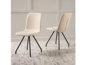 Christopher Knight Home Bryson Fabric Dining Chair (Set of 2)