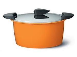 Kuhn Rikon Hotpan Braiser 4.8 Quart, Orange