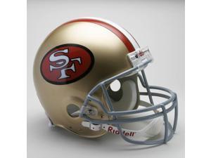 San Francisco 49ers 1964-1995 Throwback Riddell Full Size Authentic Proline Football Helmet