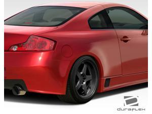 Duraflex FRP  Infiniti G Coupe G35 2DR  GT500 Wide Body Rear Fenders - 2 Piece > 2003-2007