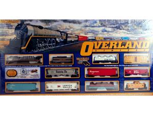 Bachmann HO Scale Train Set Analog Overland Limited 00614