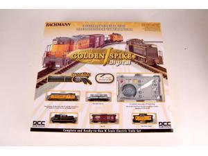 Bachmann N Scale Train Train Set DCC Equipped  Golden Spike 24131