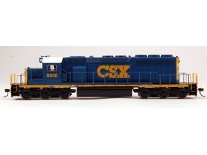 Bachmann HO Scale Train SD40-2 DCC Ready Csx® #8840 (Dark Future) 67024