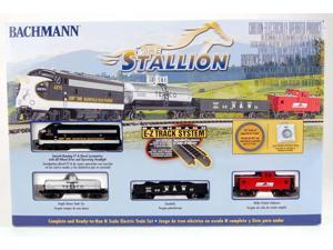 Bachmann N Scale Train Set Analog The Stallion 24025