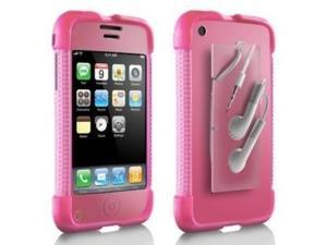 DLO JAM JACKET FOR APPLE IPHONE 2 3G 3GS, PINK SKIN SILICONE CASE COVER