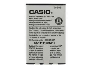 OEM CASIO BTR781B BATTERY FOR G'ZONE RAVINE 2 C781 BTR781 VERIZON