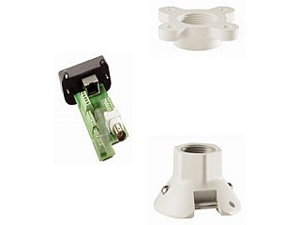 Bosch - VG4-A-9543 - Bosch Pole Mount for Surveillance Camera - 25 lb Load Capacity - Aluminum - White