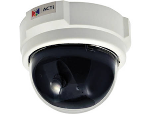 ACTi E51 RJ45 1MP Indoor Dome Camera with Basic WDR, Fixed