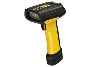 Datalogic PD7130-YB-PTR PowerScan PD7130 Series Industrial Handheld Barcode Scanner with Pointer - Scanner Only, Cable Not Included, Multi-Interface, Yellow/Black