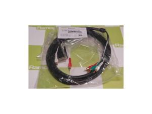 HDX main monitor cable. DVI video and dual RCA Audio to RC