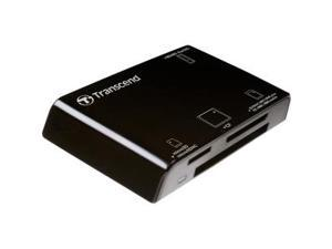 Transcend TSRDP8K Card Reader, All In One,P8, Black