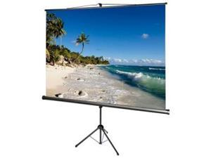 AccuScreens 800073 Tripod Screen With Keystone