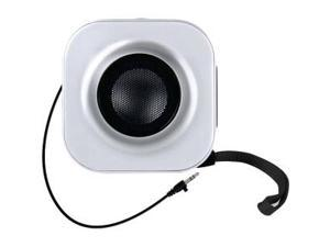 DreamGear ISOUND-1653 Go-Sound Square Shaped In Silver