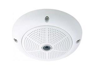 Mobotix - MX-Q25M-SEC-D12 - Mobotix Hemispheric Q24M-Sec 5 Megapixel Network Camera - Color, Monochrome - CMOS - Cable -