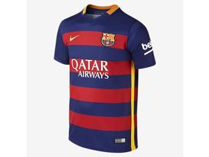 Men's 2015/16 FC Barcelona Home Soccer Jersey (US Size Small)