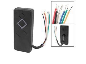 DC 12V Door Proximity ID Weigand 26 RFID Card Reader in Black colour